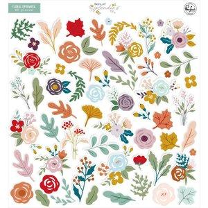 Die Cuts Floral Days of Splendor de PinkFresh