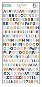 Alfabeto puffy Mini Days of Splendor de PinkFresh
