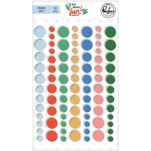 Enamel Dots Oh What Fun de PinkFresh