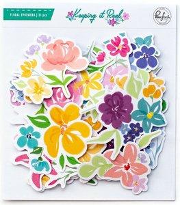 Die Cuts Floral Keeping it Real de PinkFresh