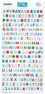 Alfabeto Mini Some Days de PinkFresh