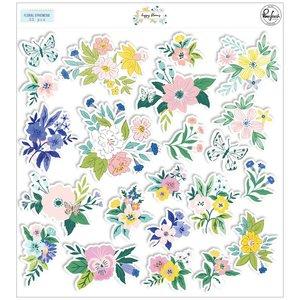 Die Cuts Floral Happy Blooms de PinkFresh