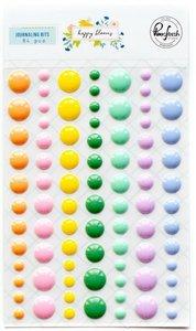 Enamel Dots Happy Blooms de PinkFresh