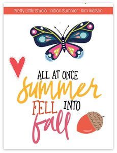 Acetato Cut-apart Indian Summer All Fall