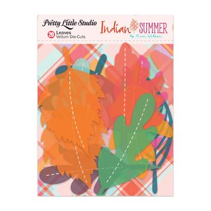 Die Cuts de vellum Indian Summer Leaves