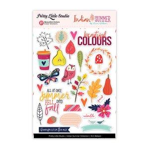 Pegatinas transparentes Indian Summer Beautiful Colors