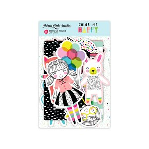 Die Cuts Color Me Happy Merry Go Round