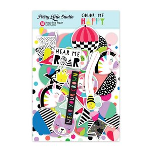 Die Cuts Color Me Happy Hear Me Roar