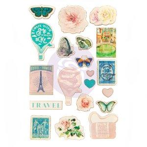 Pegatinas de Madera Capri Collection de Prima Marketing
