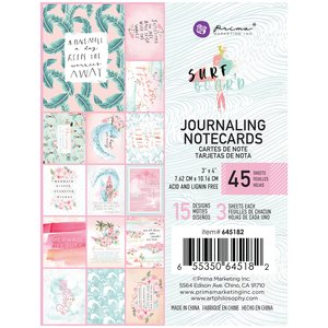 """Pad 3x4"""" Journaling Cards Surfboard Collection de Prima Marketing"""