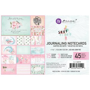 """Pad 4x6"""" Journaling Cards Surfboard Collection de Prima Marketing"""