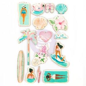 Pegatinas de Madera Surfboard Collection de Prima Marketing