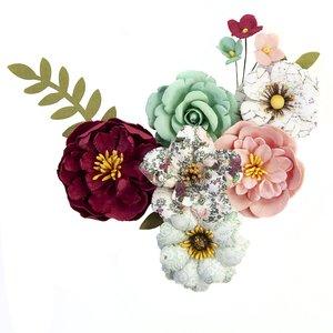 Flores col. Pretty Mosaic de Prima Emerald Dream