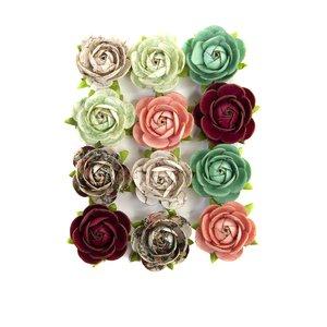 Flores col. Pretty Mosaic de Prima Peridot