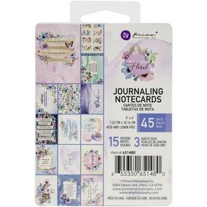 """Pad de tarjetas 3x4"""" col. Watercolor Floral de Prima"""