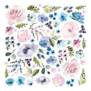 Die Cuts Ephemera 3 col. Watercolor Floral de Prima