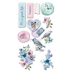 Pegatinas puffy col. Watercolor Floral de Prima
