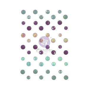 Crystals y Enamel Dots col. Watercolor Floral de Prima