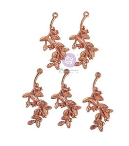 Metal Charms col. Watercolor Floral de Prima