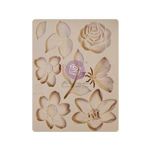 Molde de silicona col. Watercolor Floral de Prima