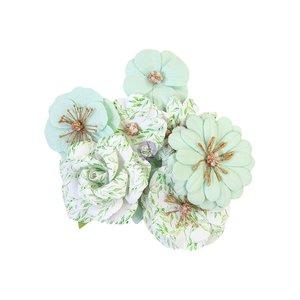 Flores col. Watercolor Floral de Prima Minty Water