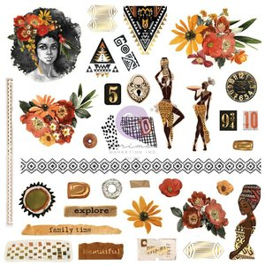 Die Cuts Ephemera col. Diamond de Prima
