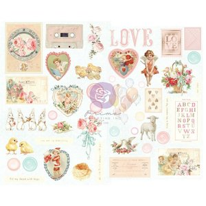Pegatinas de chipboard col. Magic Love de Prima