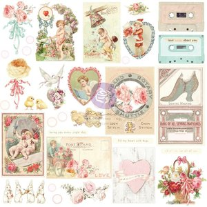 Die Cuts Ephemera 1 col. Magic Love de Prima