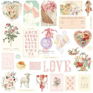 Die Cuts Ephemera 2 col. Magic Love de Prima