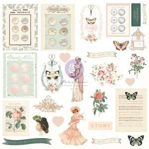 Die Cuts Ephemera 2 col. My Sweet de Prima