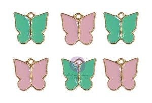 Charms Butterflies col. My Sweet de Prima