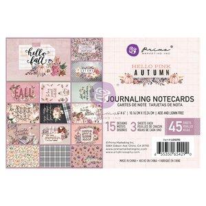 "Pad de tarjetas 4x6"" col. Hello Pink Autumn de Prima"