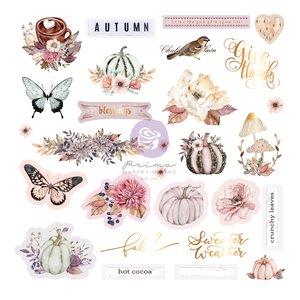 Die Cuts Ephemera col. Hello Pink Autumn de Prima
