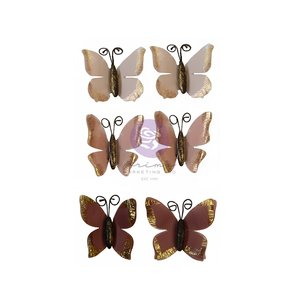 Mariposas Butterfly Chase col. Hello Pink Autumn by Sharon Ziv