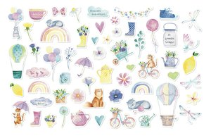Die Cuts Stars and Rockets Spring