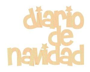Maderita Diario de Navidad Stars and rockets