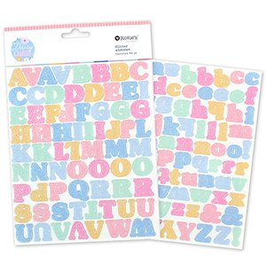 Alfabeto glitter Daisy Chain de Rosie's Studio