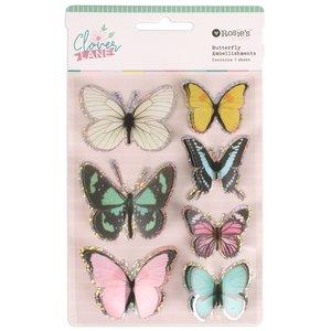 Mariposas Clover Line de Rosie's Studio