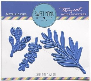Troqueles Sweet Moma Hojas Silvestres