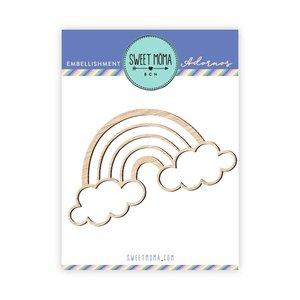 Maderita Sweet Arcoiris y nubes