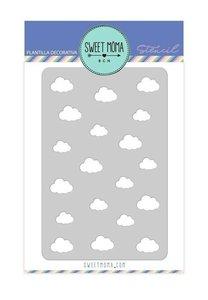Stencil Aire de Sweet Moma Nubes