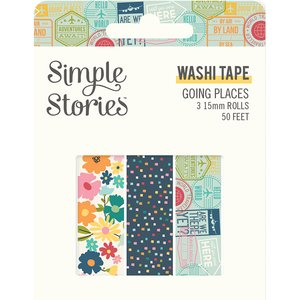 Set Washi Tapes Simple Stories Going Places