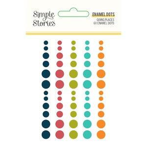 Enamel Dots Simple Stories Going Places