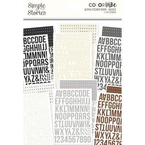 Libreto de alfabetos Color Vibe Basics