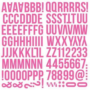 Alfabeto de foam Color Vibe Pink