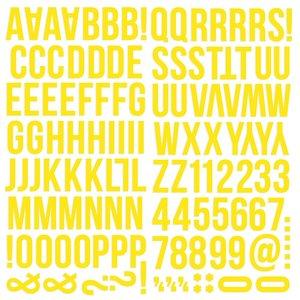 Alfabeto de foam Color Vibe Yellow