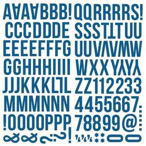 Alfabeto de foam Color Vibe Navy