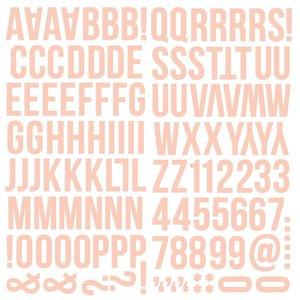 Alfabeto de foam Color Vibe Blush