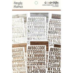 Libreto de alfabetos Color Vibe Woods