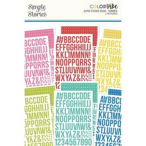 Libreto de alfabetos Color Vibe Summer